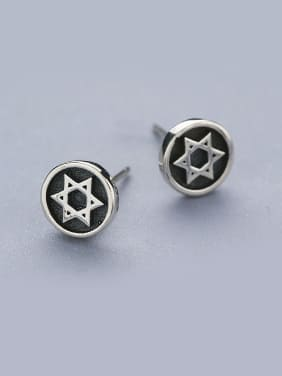 Retro Style Star Shaped stud Earring