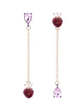 Retro Temperament Asymmetry Long Fashion Drop Earrings