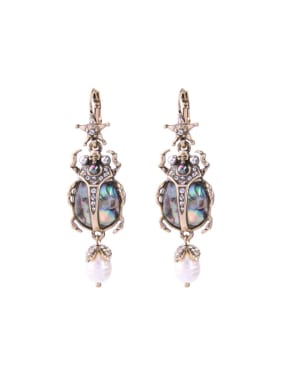 Retro Western Style Personality Fashion Insect Shaped Earrings