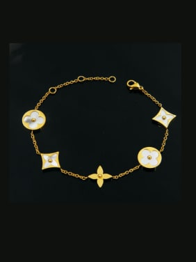 Round Diamond Shaped Accessories Shell Women Bracelet
