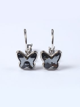 Fashion Crystal Butterfly Women Earrings