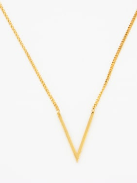 Monogrammed Youself ! Gold Plated   Chain
