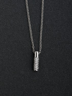 Simple word 1 Pendant   925 Silver Necklaces