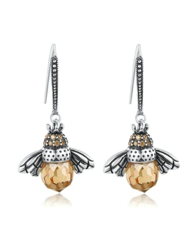925 Silver Bee Element Earrings