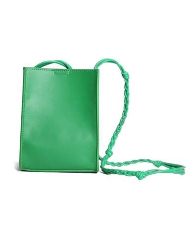 A CrossBody Bag with Weaving shoulder strap
