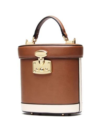 Fashion leather bucket bag