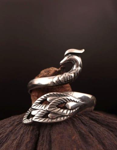 New Design Phoenix Opening Statement Ring