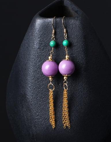 Fashion Temperament Tassel Drop Earrings