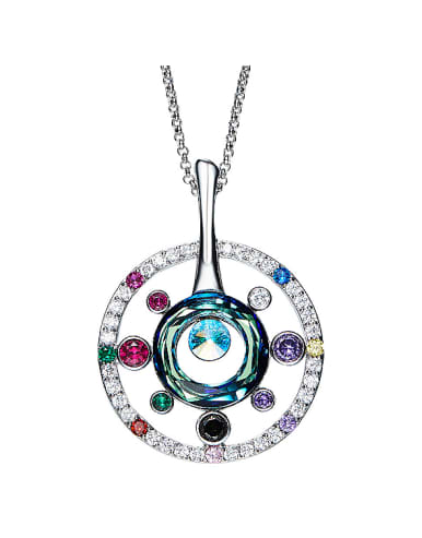 2018 Multi-color Crystals Necklace