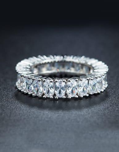 Women Geometric band ring