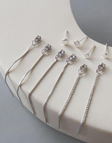Sterling silver simple ear wire