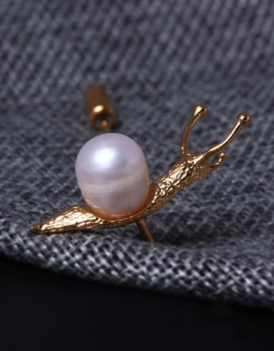 High Quality Animal Snail Brooch