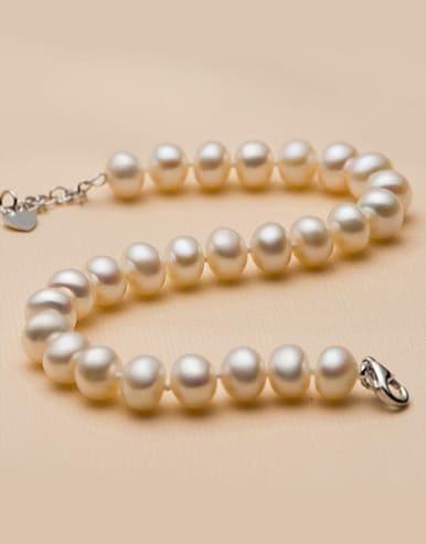 Classical Freshwater Pearls Bracelet