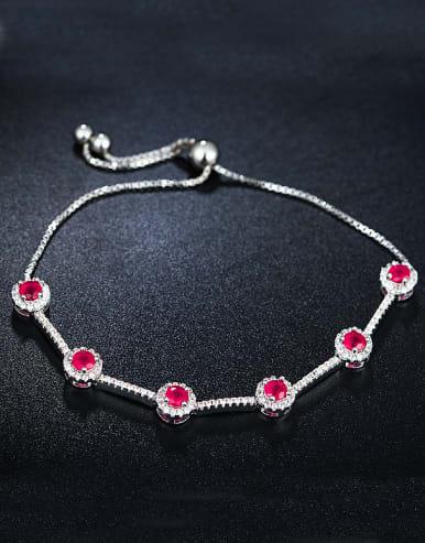 Pink Zircon Bracelet