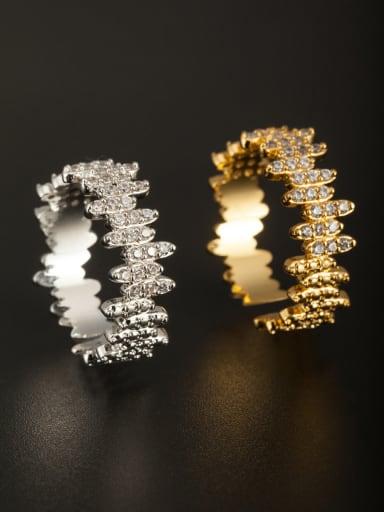 New design Copper Zircon Ring in Multicolor color  Combination of the ring
