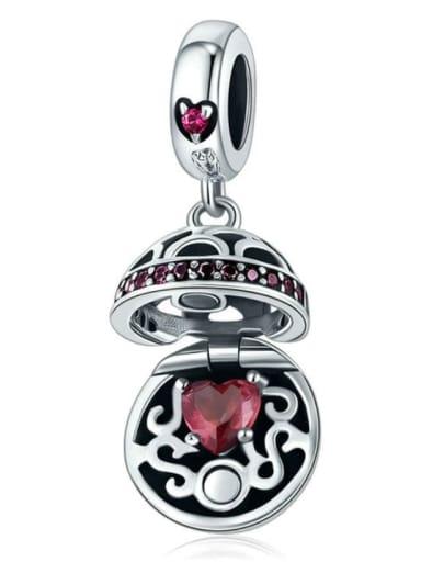 925 silver love charm