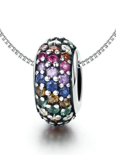 925 Silver Rainbow Bead charm