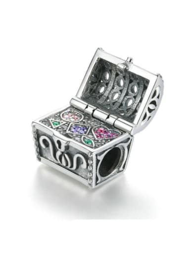 925 Silver Treasure Box charm