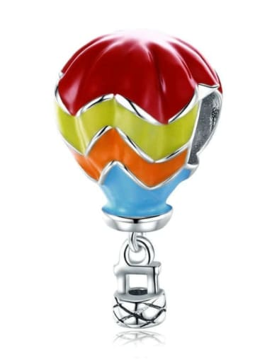Turkish hot air balloon 925 Silver Travel charm