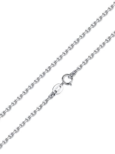 chain 925 silver cute little fox charm
