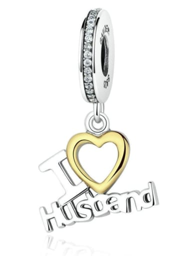 925 Silver Father's Day charm