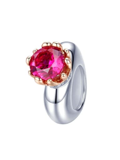 925 silver cute ring charm
