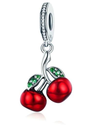 925 Silver Summer Cherry charm