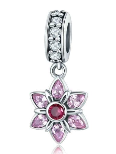 925 Silver Romantic Cherry Blossom charm