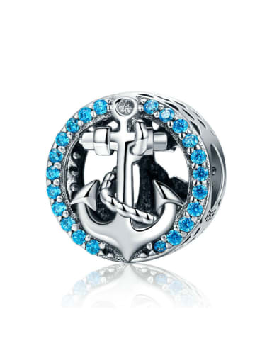 925 silver pirate ship charm