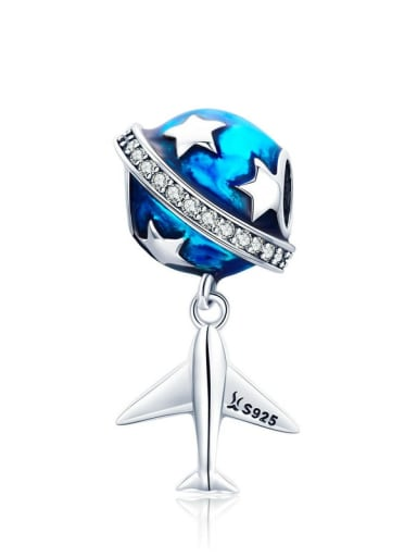 Dream of travel 925 Silver Travel charm