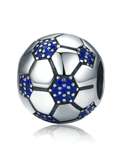 Football passion 925 silver various sports ball charm