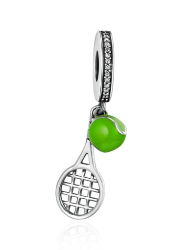 death grip 925 silver various sports ball charm