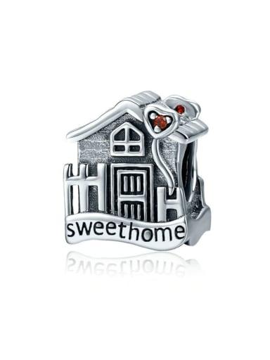 925 silver warm house charm