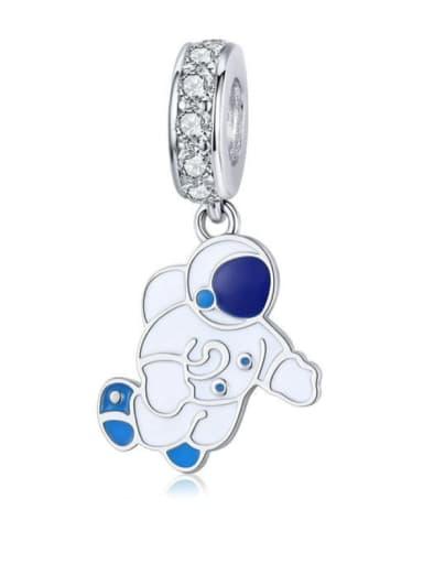925 Silver Spaceman charm