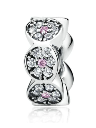 925 silver cute garland charm
