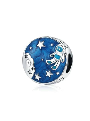 925 Silver Romantic Starry charm