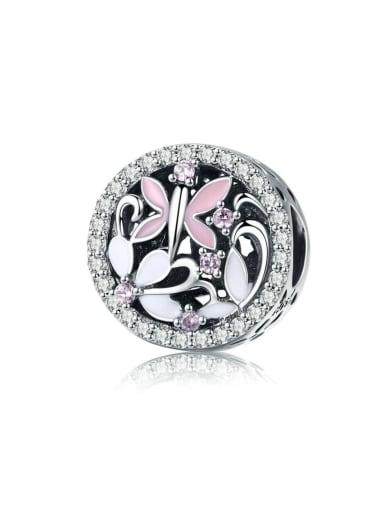 925 silver cute enamel charm