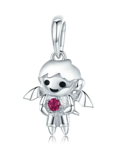 925 silver little demon charm