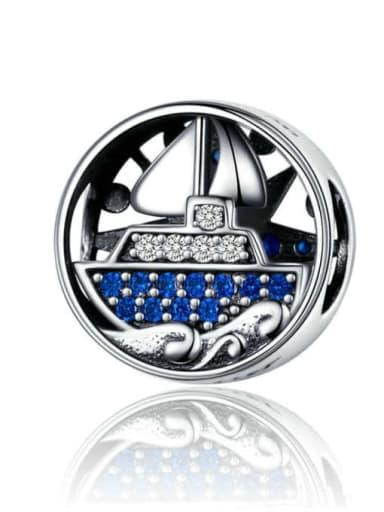 Voyage trip 925 silver marine charm