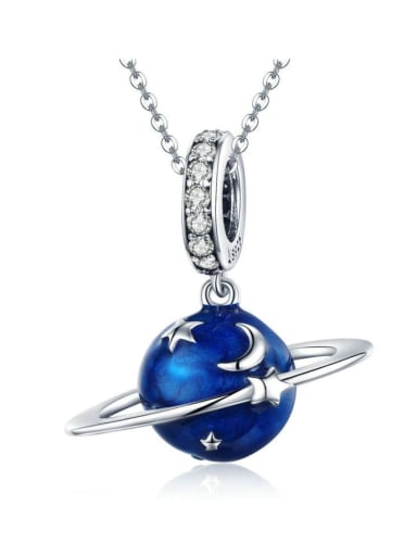 Pendant Chain 925 Silver Romantic Starry charm