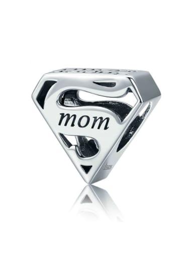 925 Silver Superman charm