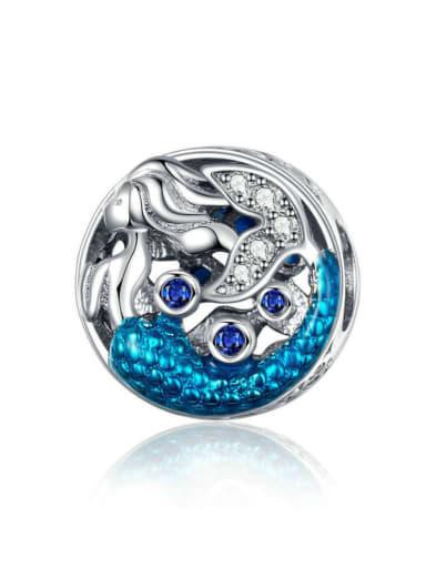 925 Silver Mermaid charm