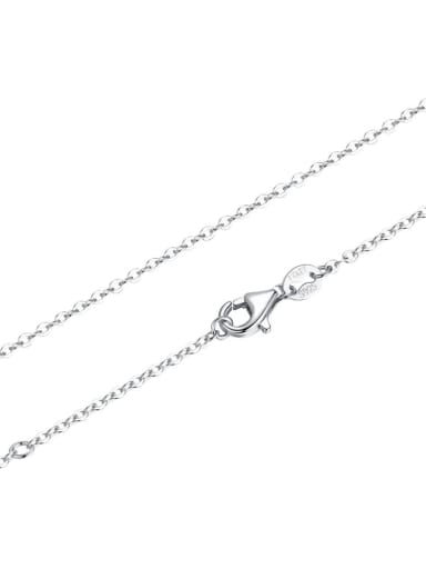 chain 925 silver cute flower and fruit charm