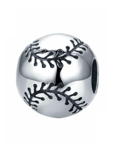 Baseball sentiment 925 silver various sports ball charm