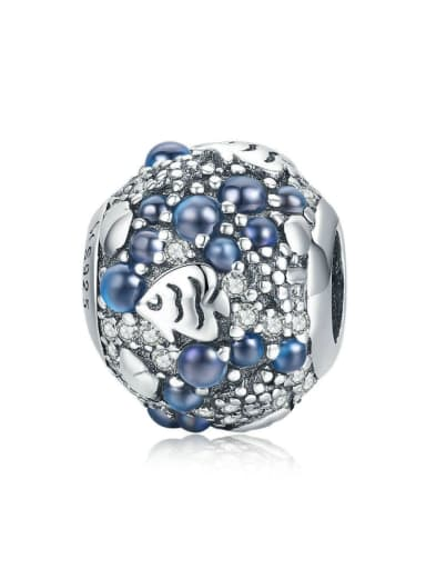 925 Silver Underwater World charm