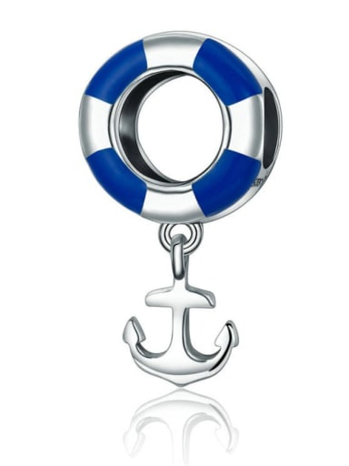 925 silver cute anchor charm