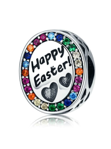 925 Silver Easter charm