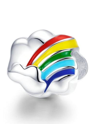 Rainbow 925 silver rainbow charm