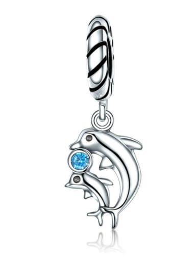 925 silver Marine life charm