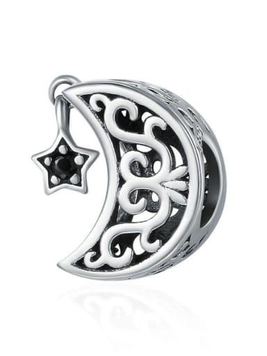 925 Silver Moon charm